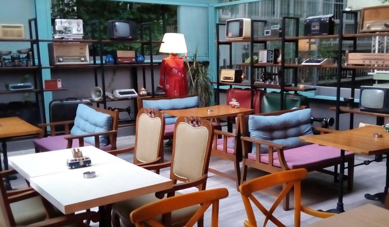 vintage cafe bornova